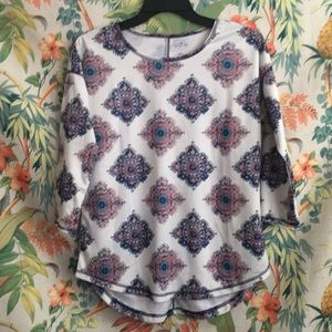 St. John Bay Blouse Medium